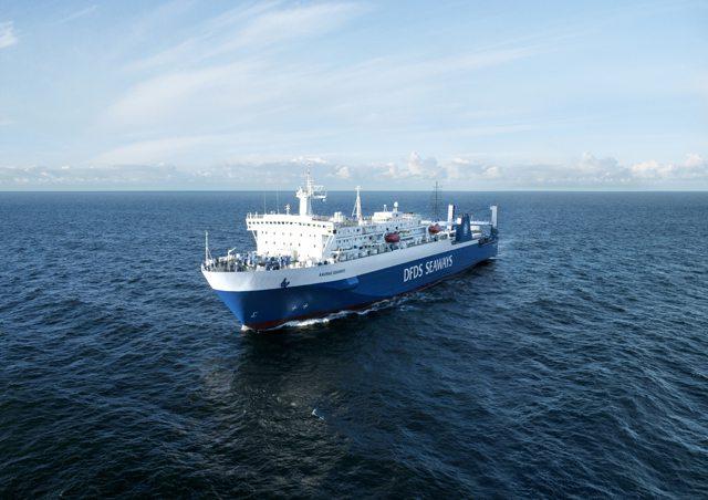 Kaunas Seaways der Reederei DFDS Seaways - Bildquelle: DFDS