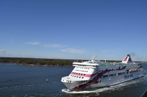 Baltic Princess in Mariehamn - Bildquelle: Fähren-Buchen/Marcel Brech