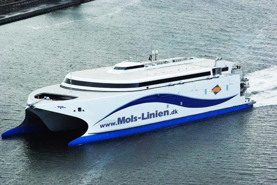 KatExpress 2 der Reederei Mols-Linien - Bildquelle: Mols-Linien