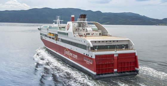 MS Stavangerfjord der Reederei Fjord Line - Bildquelle: Fjordline/Espen Gees