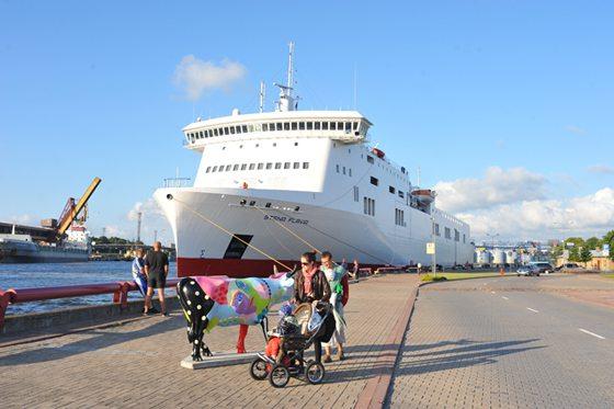 Stena Flavia der Reederei Stena Line - Bildquelle: Stena Line