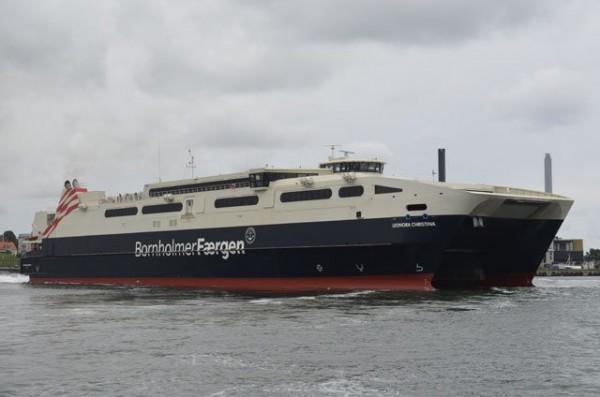 eonora Christina der Reederei Bornholmer Faergen - Bildquelle: Fähren-Aktuell/Marcel Brech