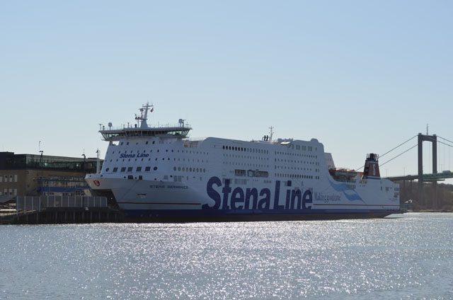 Stena Germanica in Göteborg - Bildquelle: Fähren-Aktuell