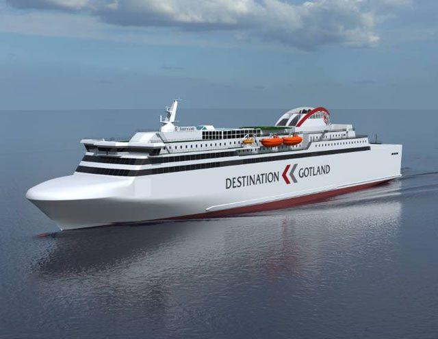 Neubau für Destination Gotland mit LNG-Antrieb - Bildquelle: Destination Gotland/GSI-Werft