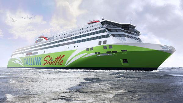 Grafik vom Tallink Neubau - Bildquelle: Meyer Turku