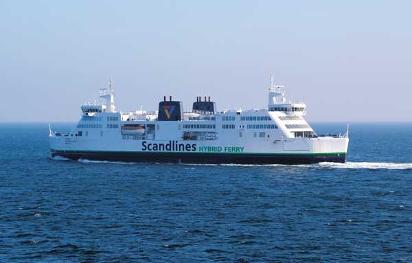 Prinsesse Benedikte mit schon eingebautem Hybrid-System - Bildquelle: Scandlines