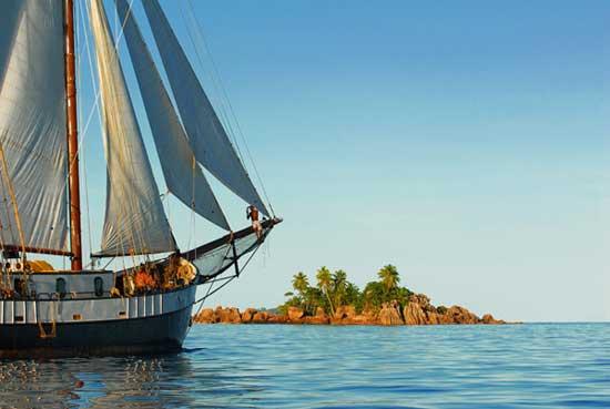 Sea Pearl unterwegs in der Inselwelt der Seychellen - Bildquelle: Silhoutte Cruises