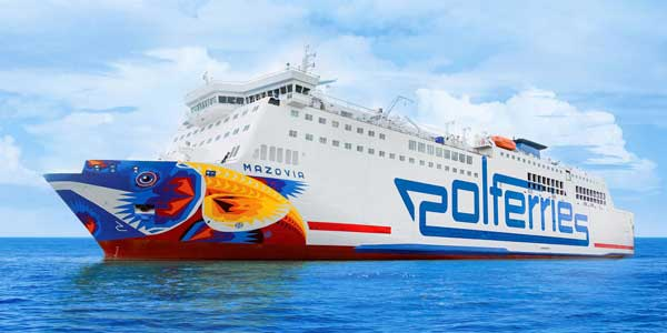 Mazovia von Polferries - Bildquelle: Polferries