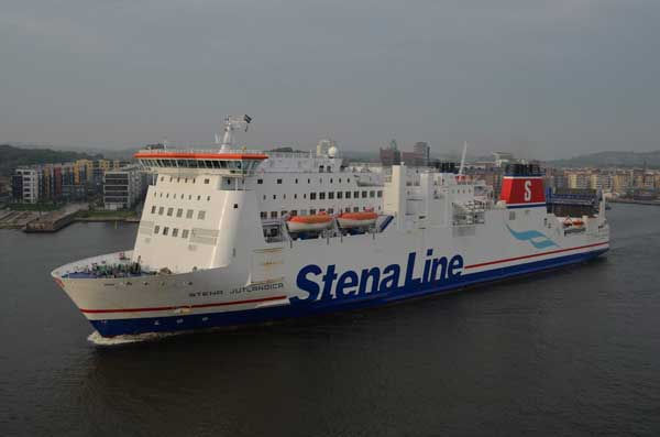 Stena Jutlandica in Göteborg - Bildquelle: Fähren-Aktuell
