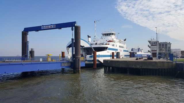Elb-Link Fähre Grete in Cuxhafen - Bildquelle: Fähren-Aktuell