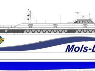 Neuer Katamaran für Mols-Linien von Austal - Bildquelle: Austal