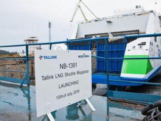 Stapellauf der Megastar auf der Meyer Turku Werft - Bildquelle: Meyer Turku