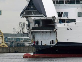 MS Berlin nach ihrem Ausfall - Bildquelle: Torsten Noelting