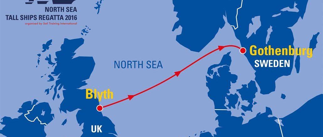 North Sea Tall Ships Regatta Göteborg 2016 - Bildquelle: Stena Line